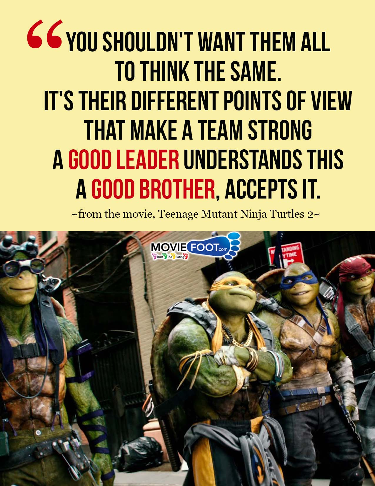 Ninja Turtle Quotes Teenage Mutant Ninja Turtles  Out Of The Shadows Movie Review
